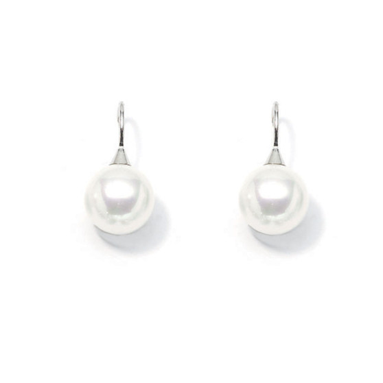 Urban Zen Pearl Drop Earrings (E1015)-$49