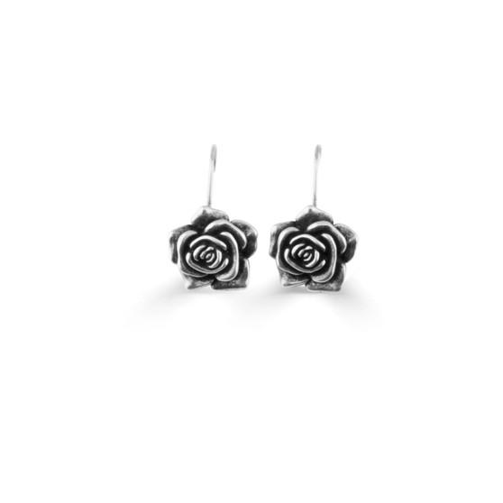 French Rose Drop Earrings (E2014)