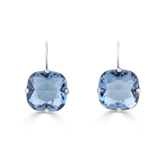 Denim Premier Drop Earrings (E4171)-$129