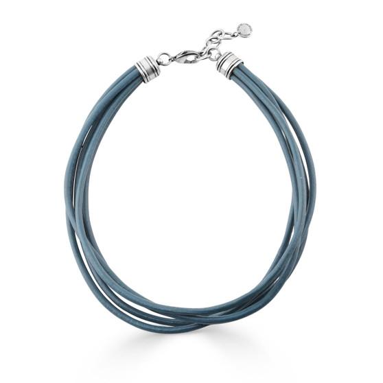 Athena Leather Necklace