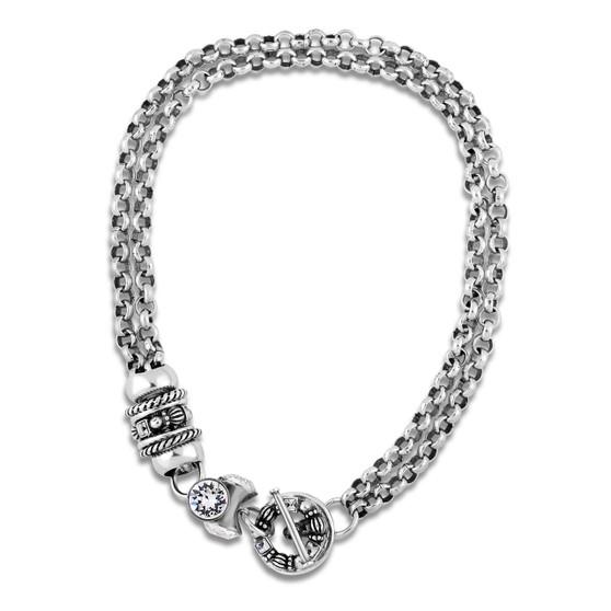 Crystal Santorini Necklace (N1983)-$229