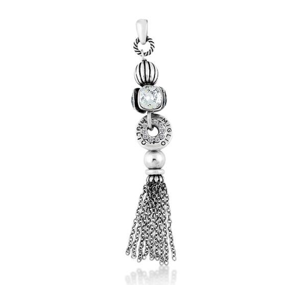 New Twist Crystal Pendant (EN1648)-$109