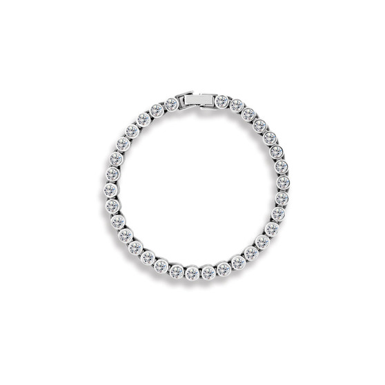 True Gem Tennis Bracelet (B1494)-$199