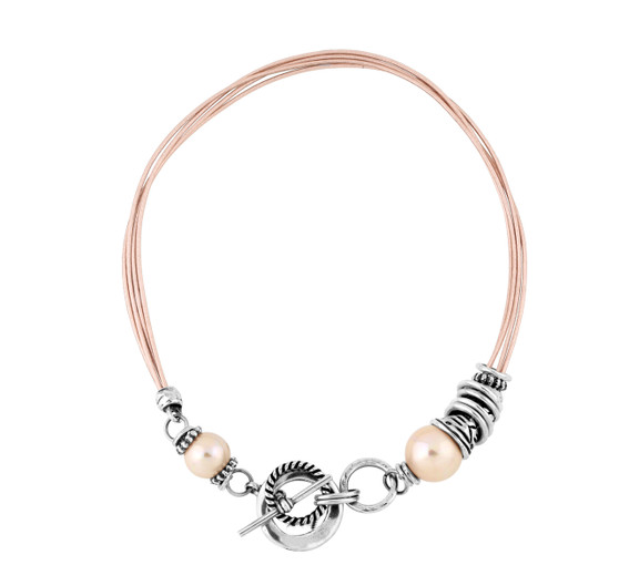 Spirit Of Africa Leather Necklace