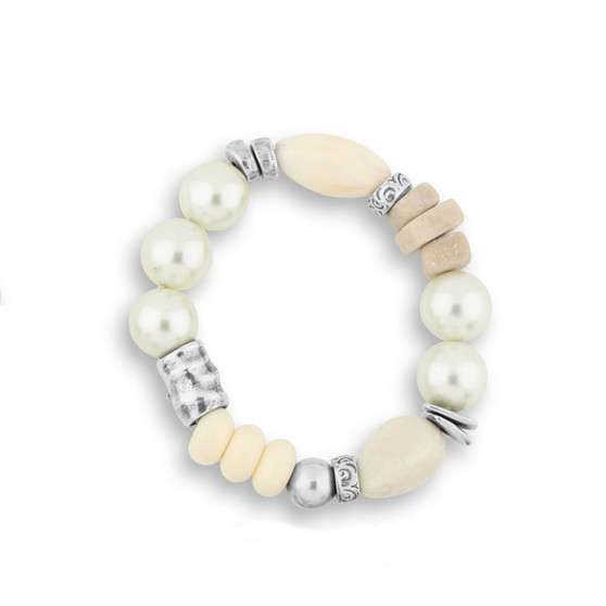 Mystical Pearl Stretch Bracelet