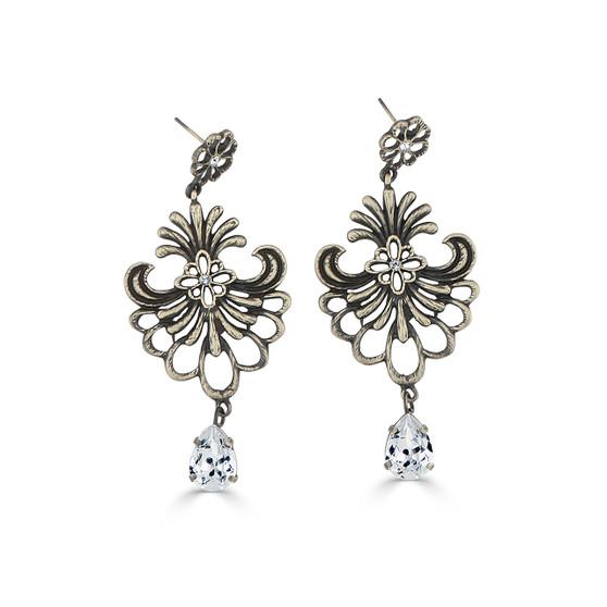 Tuscany Crystal Chandelier Earrings (E4442)