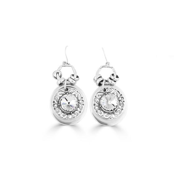 Mozaic Crystal Earrings (E4445)