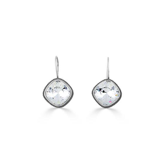 Geometric Crystal Earrings (E4457)