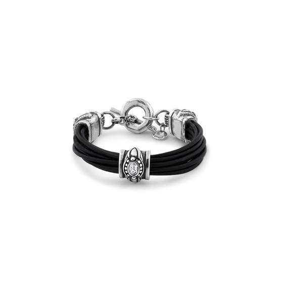 Thula Leather Bracelet (B1536 S/M)