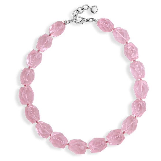 Pink Rocks Necklace (N2026)