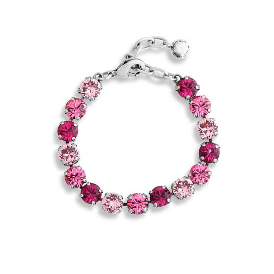 Pink Reflections Tennis Bracelet (B1544 S/M)