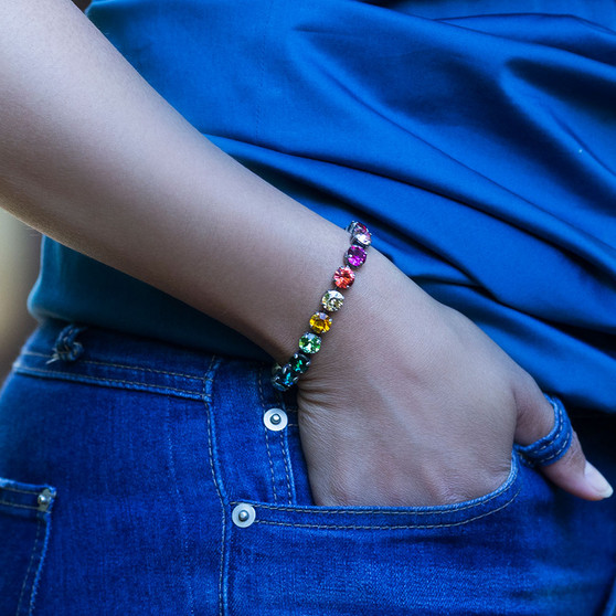 Dreaming in Colour Tennis Bracelet