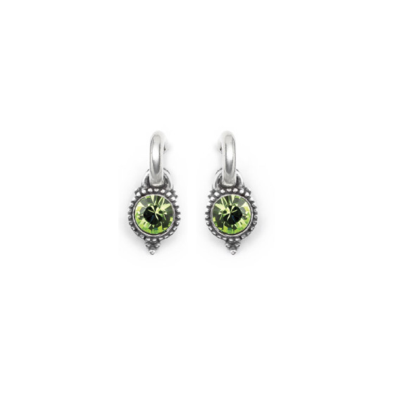 Peridot Carefree Earring Charms (E4539)