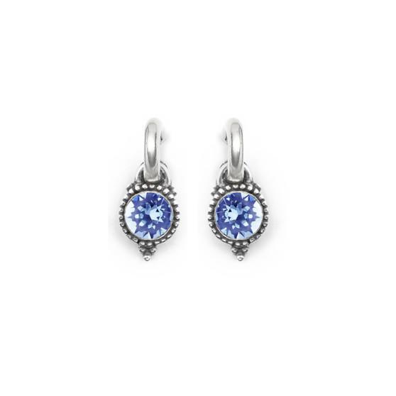 Aquamarine Carefree Earring Charms (E4540)