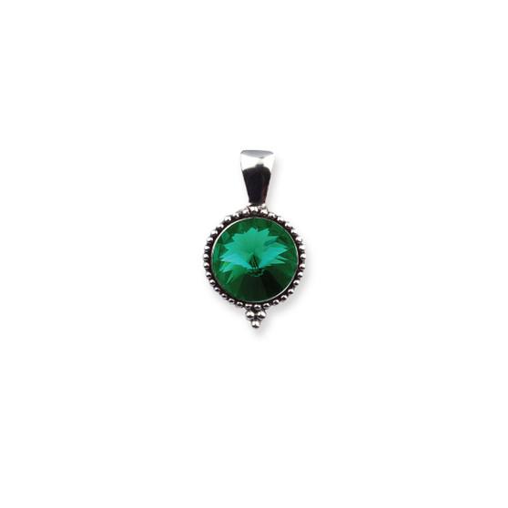 Emerald Sparkle Pendant (EN1755)