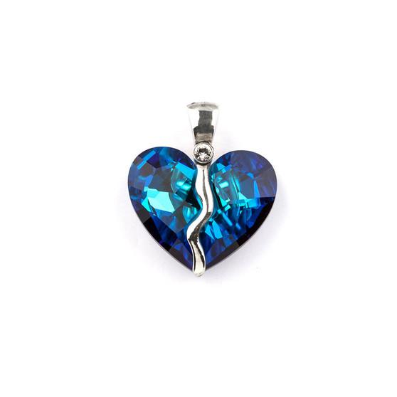 Bold Renaissance Heart Pendant (EN948)