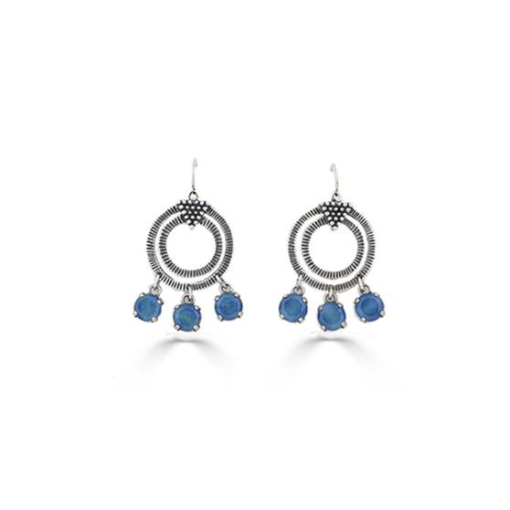 Blue Lagoon Earrings (E4592)