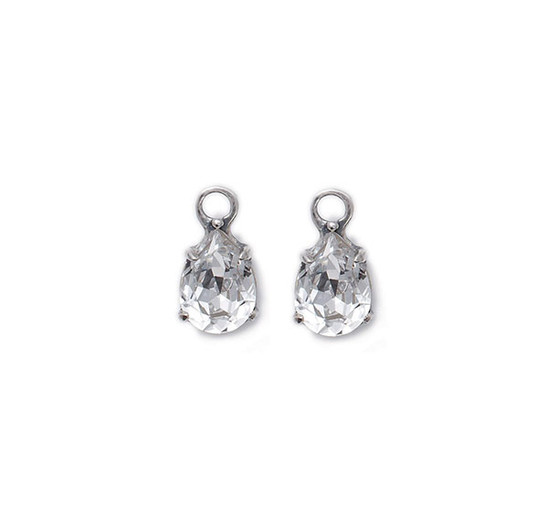 Petite Crystal Drop Earring  Charms (E2264) - Ships immediately from Perth