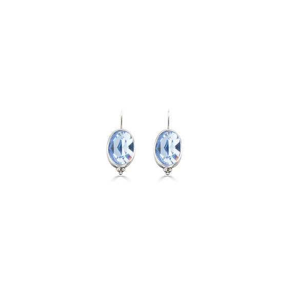 Charmed Light Sapphire Drop Earrings (E4656)