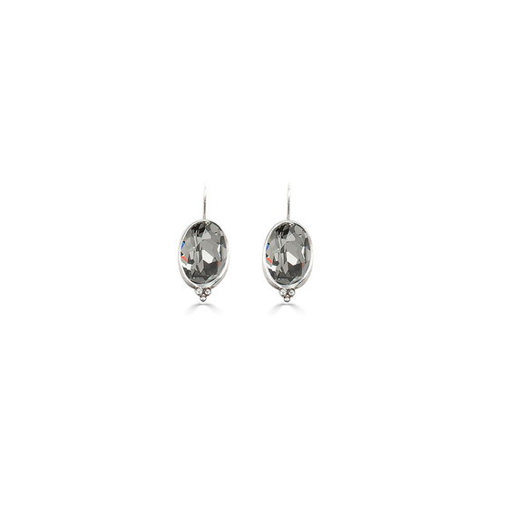 Charmed Black Diamond Drop Earrings (E4660)