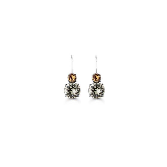 Mocha Drop Earrings (E4678)