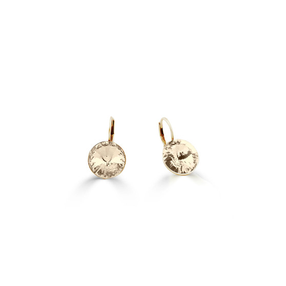 18ct gold-plated Silk Petite Glam Temptation Earrings ( E4701 )