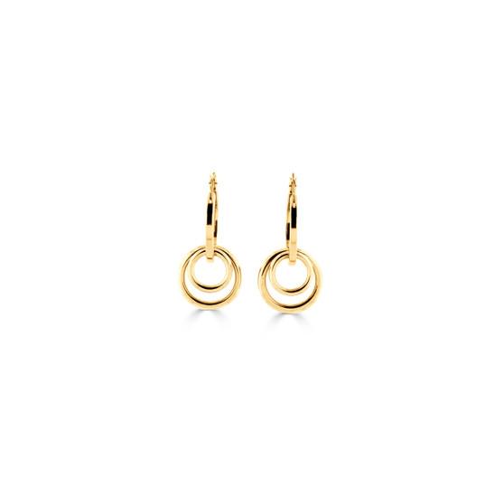 Urban Cool 18ct gold-plated Hoop Earrings