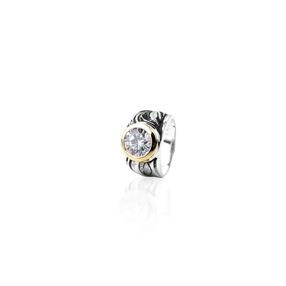 Wanderlust Ring -  Sterling Silver ∙ 9ct Gold
