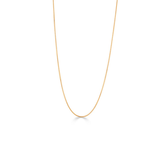 18ct Gold-plated Snake Chain