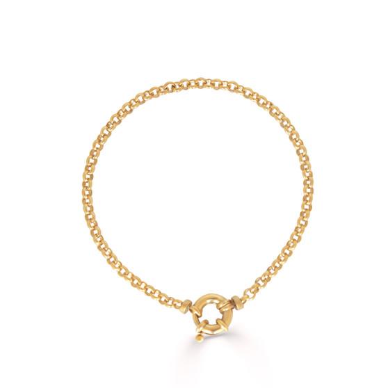 Hello Sunshine Gold Chain Bracelet
