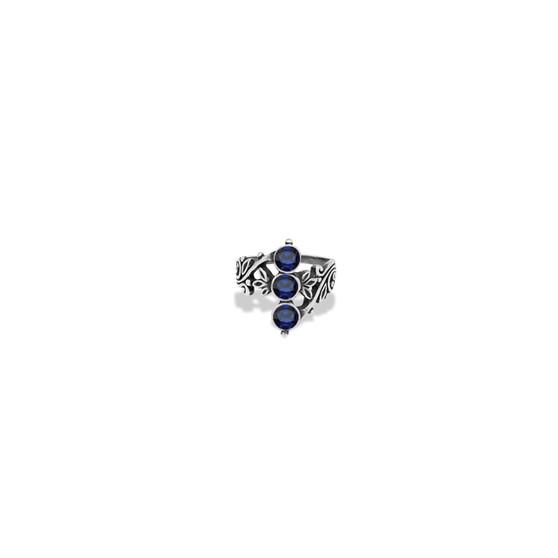 Royal Sapphire Trio Ring