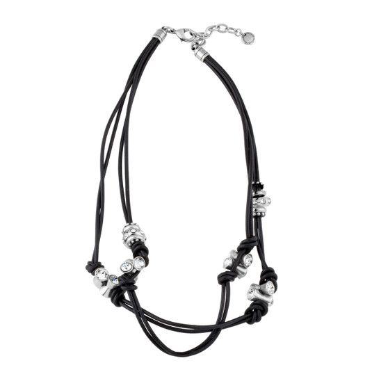 Eco-Glam Leather Necklace (N1572)