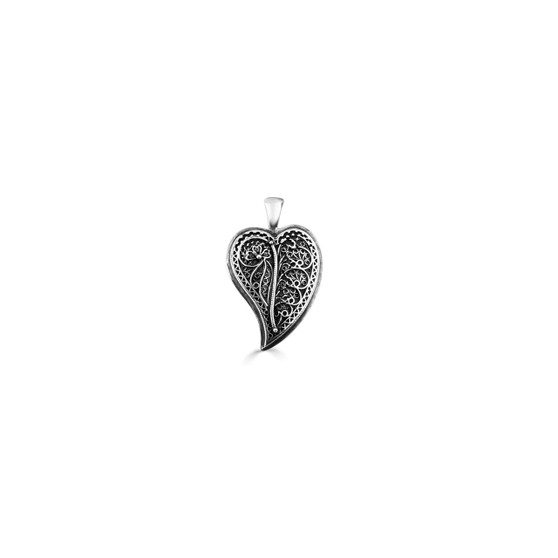 Tropical Paradise Heart Pendant (EN972)-$39