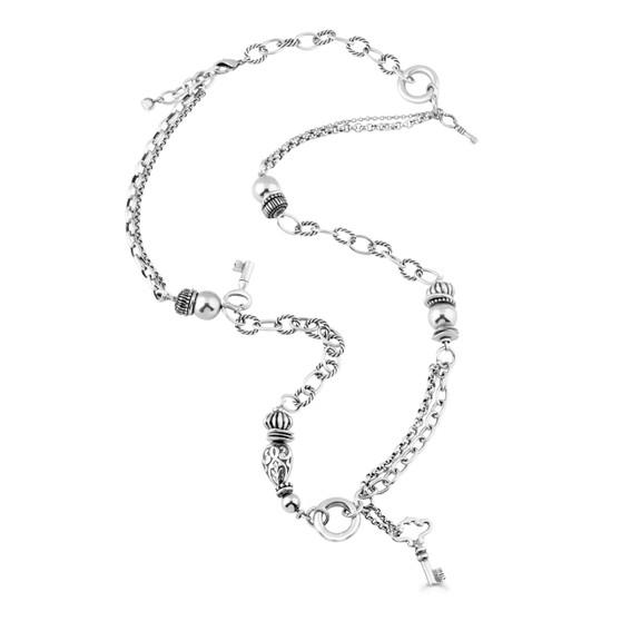 Vintage Key Necklace (N1362)-$179