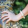 Mystical Pearl Stretch Bracelet (B1513)
