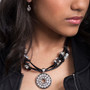 Eco-Glam Leather Necklace