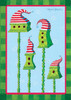 Striped Hat Birdhouse - Standard Flag by Toland