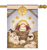 Nativity - Standard Flag by Toland