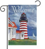 Lighthouse - Small Garden Flag by Lang