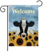 Surrounded by Sunflowers - Small Garden Flag by Lang