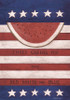 Red, White & Blue - Large Garden Flag by Lang