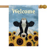 Surrounded by Sunflowers - Large Garden Flag by Lang