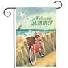 Beach Cruiser - Garden Flag by Toland