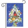 Cardinal Lights - Garden Flag by Toland