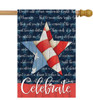 Celebrate - Large Garden Flag by Lang