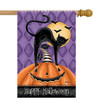 Happy Halloween - Large Garden Flag by Lang