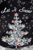 Let It Snow - Small Garden Flag by Lang