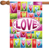 Valentine Love - Standard Flag by Toland