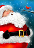 Laughing Santa - Standard Flag by Toland