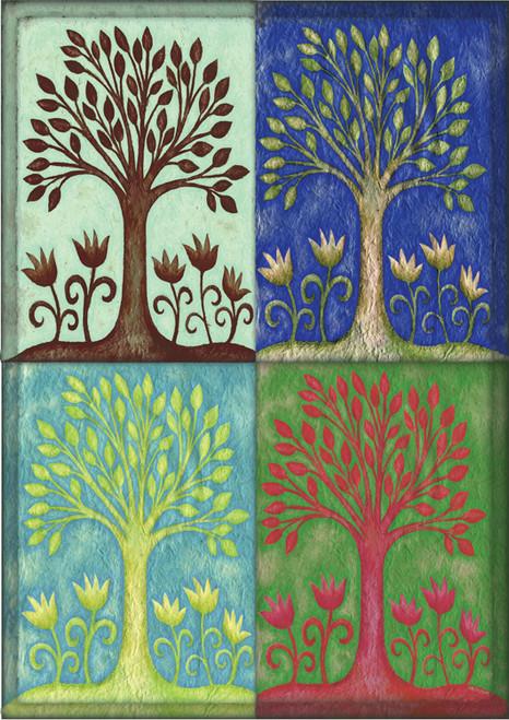Seasons - Garden Flag by Toland